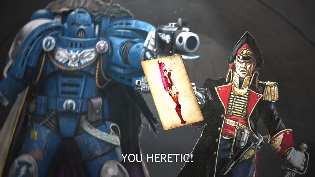 It says youre a heretic