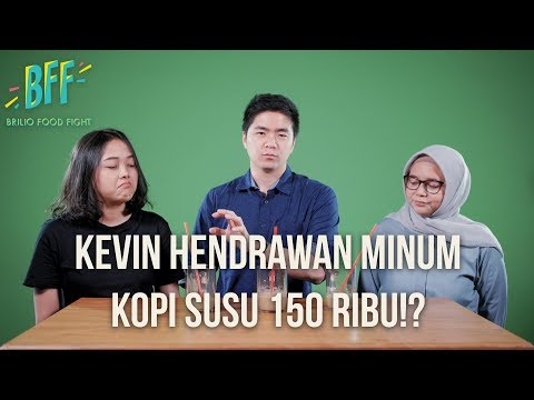 BFF #5 - Kevin Hendrawan Minum KOPI SUSU 150 RIBU!?