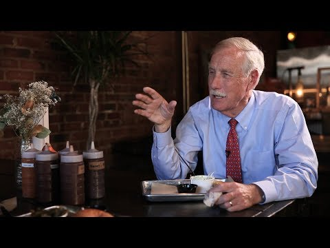 At The Table: Sen. Angus King Builds Senate Friendships With BBQ