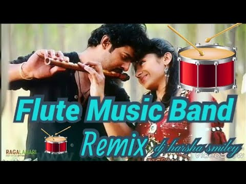 2017 FLUTE MUSIC - REMIX - BY DJ-HARSHA-SMILEY