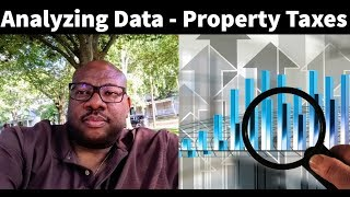 Analyzing Data from the Delinquent Property Tax List