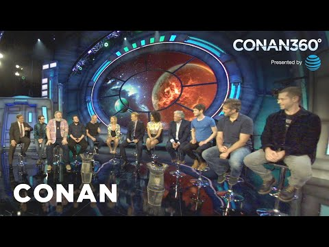 "CONAN360°: The ""Game Of Thrones"" Cast Makes Their Epic Entrance"