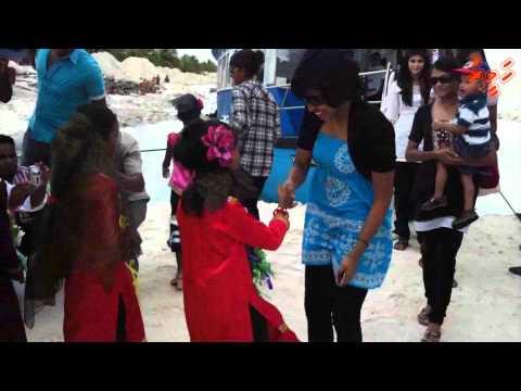 HSA Partners and Celebrities CSR trip to K.Dhiffushi