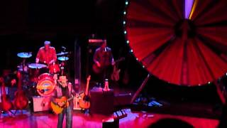 Elvis Costello - Spectacular Spinning Songbook - One Bell Ringing - Orpheum - Vancouver