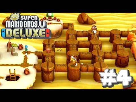 New Super Mario Bros U Deluxe- Layer-Cake Desert (Part 2)