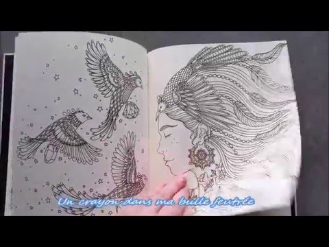 Présentation du livre Sommarnatt - Summer Nights Coloring Book - Hanna Karlzon