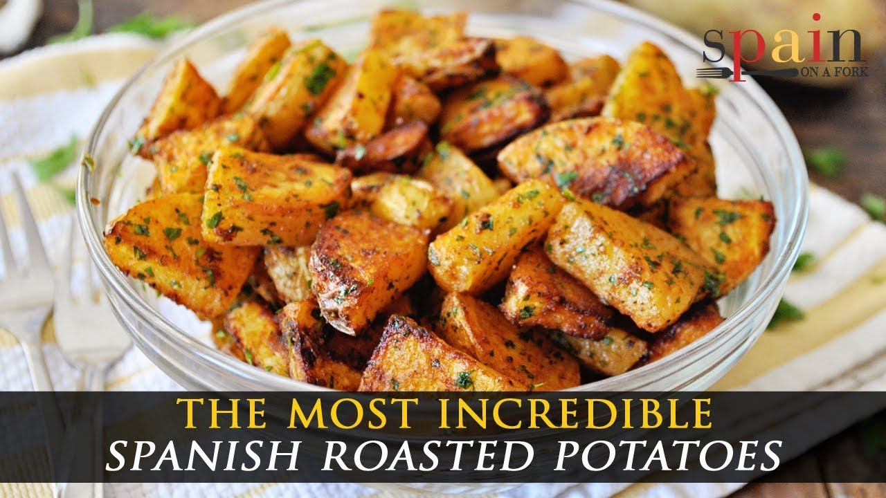 Roasted Spanish Potatoes With Paprika And Parsley