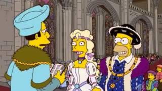 Homer Simpson Enrico VIII