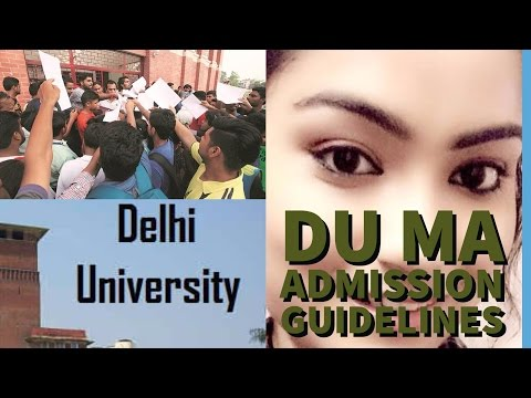Delhi university MA entrance exam tips. Exam and question pattern of 2017 | Sweta Sanu | Quick Guide