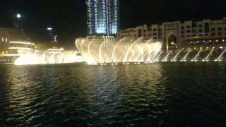 singing fountain Dubai - O MIO BABBINO CARO