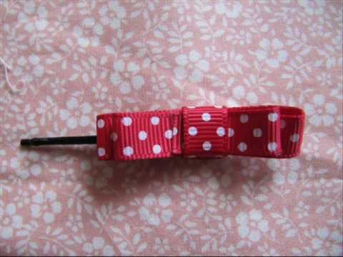 Bowsandsuch - handmade hair bows & ribbons for sale