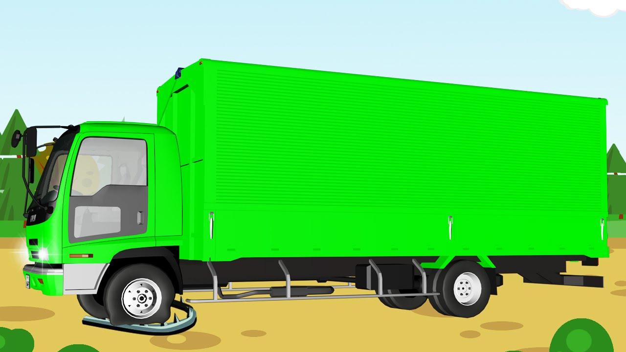 Vidéo éducative: Camion pour enfants   Dessin animé français pour petits - YouTube