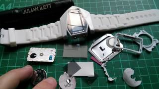 Teardown: Crappy Inverse LCD RGB LED Back Light Watch