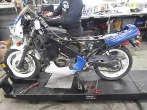 1988-1990(1989) HONDA VTR250 INTERCEPTOR MOTOR AND PARTS FOR SALE ON EBAY - YouTube