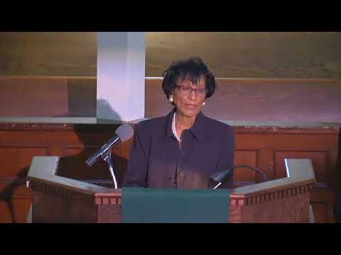 September 3 2017 Sermon  Minister Betty Thomas