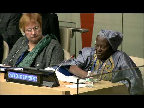 Dr. Fred Sai Speaks on Reproductive Health and Development at the 47th Commission on Population and Development
