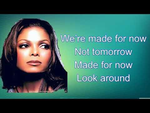 Made For Now - Janet Jackson; Daddy Yankee (lyrics/letra)
