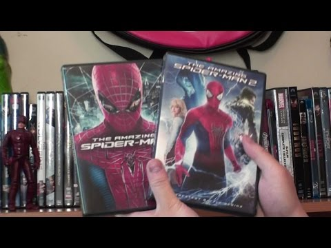 Marvel Movie Collection 2016 (DVDs, VHS, Blurays, ect...)