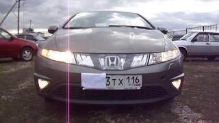 2007 Хонда Цивик Хэтчбек. Обзор (интерьер, экстерьер).