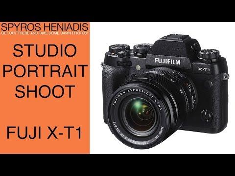Studio Photo Shoot with the Fuji X-T1 Mirrorless Camera