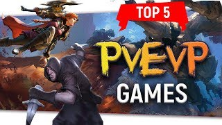 "💥Top 5 ""PvEvP Games"" Player Versus Environment Versus Player"