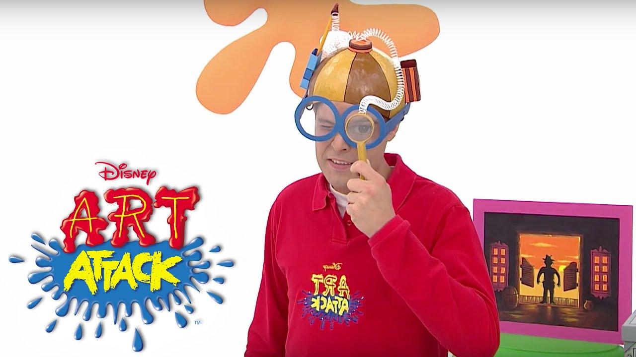 Art Attack Ganz Neue Bastelideen Auf Disney Junior Youtube