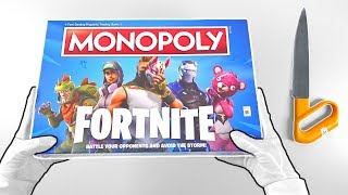 "Fortnite Battle Royale ""MONOPOLY"" Unboxing + Deep Freeze Bundles (PS4, Xbox One, Switch)"