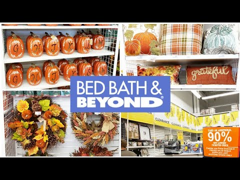 BED BATH & BEYOND SHOP WITH ME CLEARANCE AND FALL