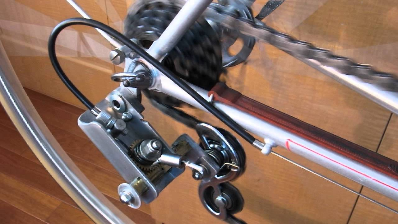 Bicycle Rear Derailleur (handmade,with Rack And Pinion