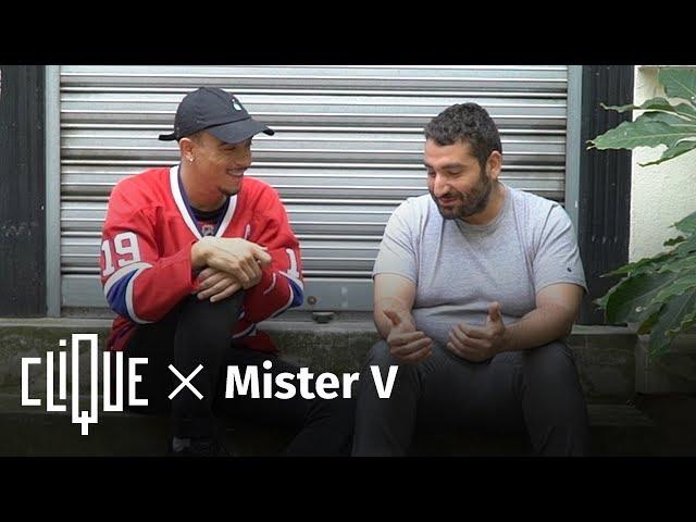 Clique x Mister V