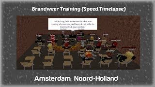 Join FIREFIGHTERS Training! -ROBLOX Amsterdam Noord-Holland (2019)