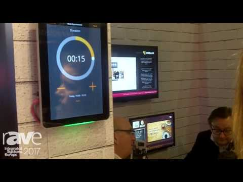 ISE 2017: ONELAN Showcases Room Reservation Software Solution, Reserva