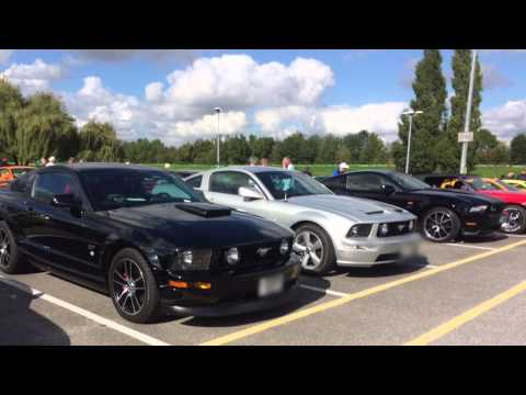 Mustang owners club of Great Britain show 2015