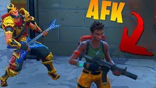 Встретил Афкашника! (AFK) \ Фортнайт: Королевская битва (Смешные моменты)