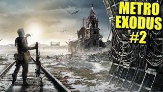 EL FRÍO MUNDO EXTERIOR - METRO EXODUS #2 | Gameplay Español