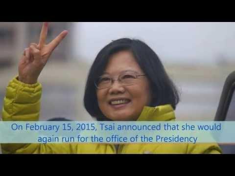Who is Tsai Ing wen?