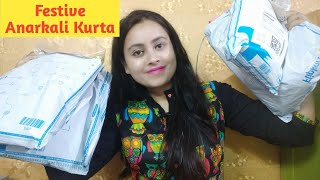 Anarkali Kurta & Plazzo set Haul/ Festive & Wedding Season Special/ Aakanksha Kumar