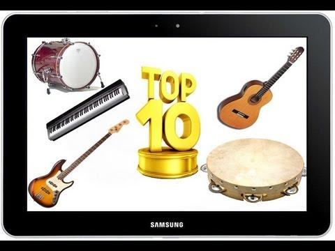 ТОП 10 игр с музыкальными инструментами на Андроид
