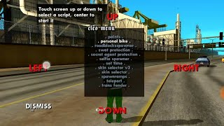 How to apply cheat code gta vice city or gta 3 for android