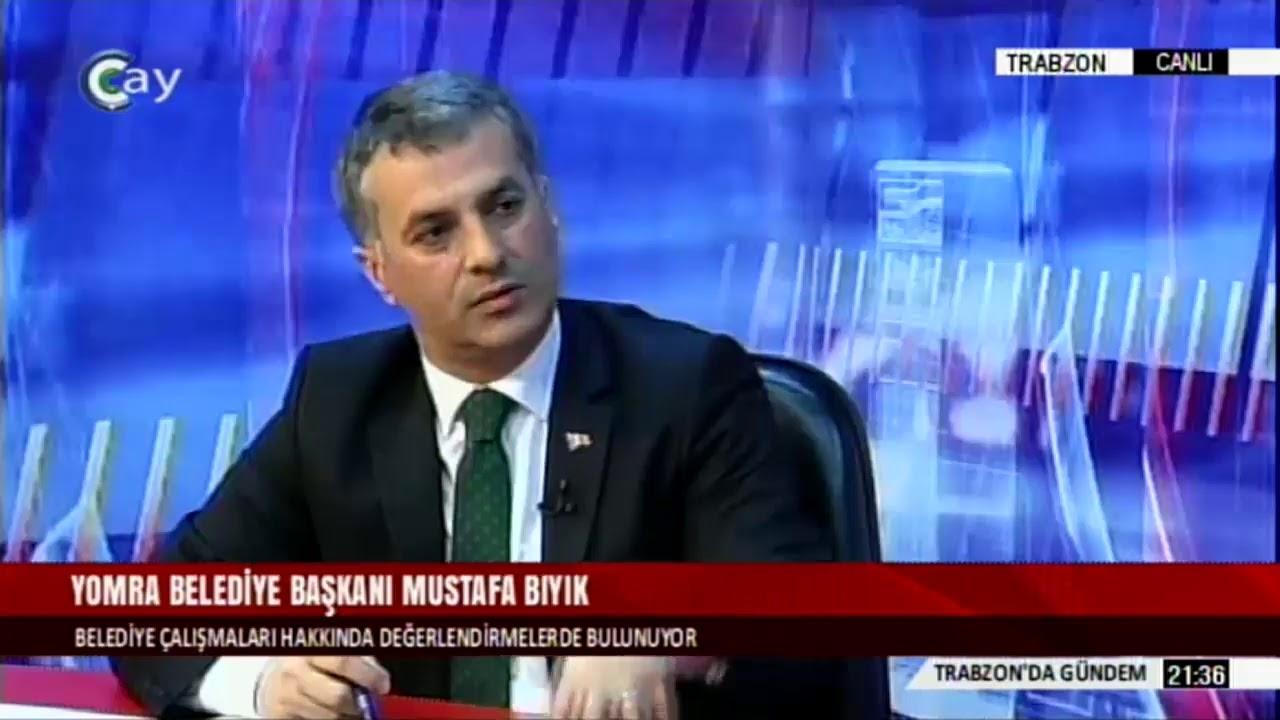 TRABZON'DA GÜNDEM - MUSTAFA BIYIK / YOMRA BELEDİYE BAŞKANI - 14.02 ...