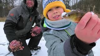 Короче Говоря Зимняя рыбалка Чуть не провалился под лёд