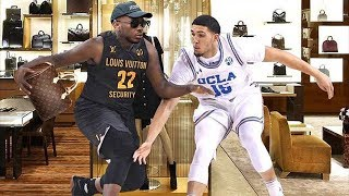 LiAngelo Ball Robbed 3 Stores on Surveillance Video! Currently on Hotel Arrest!