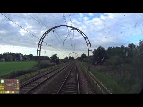 A train driver's view: Utrecht CS - Hoofddorp Opstel, SLT, 01-Aug-2017.
