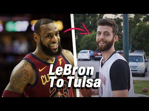 LeBron to Tulsa, OK (Join My Pick-up Team)