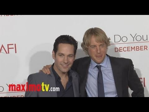 """""""How Do You Know"""" Premiere Reese Witherspoon, Paul Rudd, Owen Wilson"""