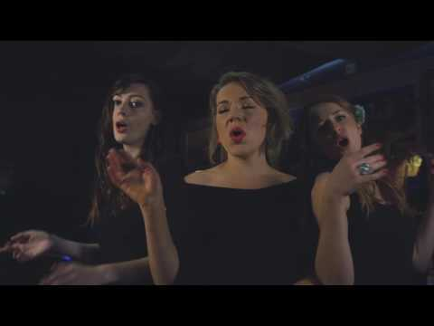 Three Female Vocal Harmony Speakeasy Swing Band for Hire | Syndicate Du Swing