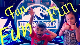 Unlimited Play At Dave And Busters (jurassic World Vr)