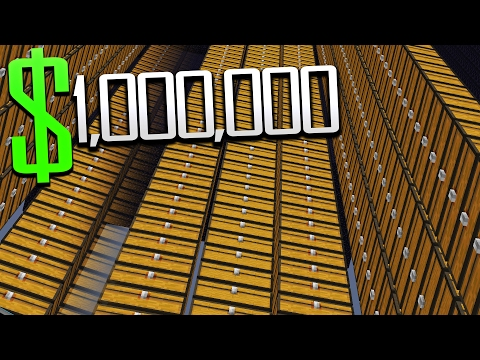 $1 BILLION FACTION BASE TOUR! (Minecraft Ice Factions #51)
