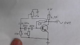 CDC Electronic Workshop - Experimentying with phase shift oscillator and ...