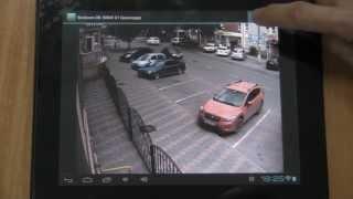 Просмотр IP камер через интернет. ПО Линия для Android(Видеонаблюдение, удаленное подключение к IP камерам на Андроид устройстве через Бесплатное мобильное прило..., 2013-06-16T23:38:39.000Z)